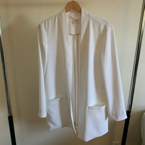 White wilfred blazer